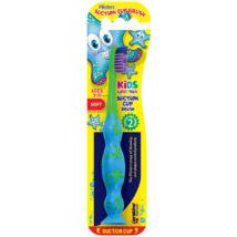 Piksters fogkefe Suction Cup Brush kék/zöld (3-10 éves) tap.kor.