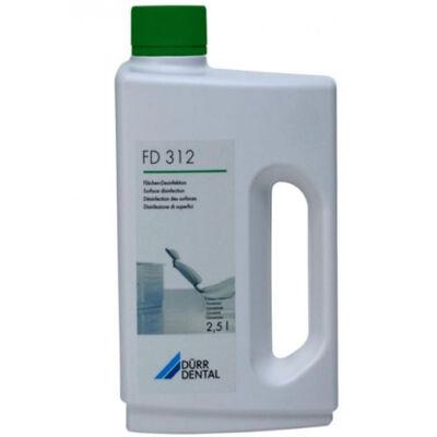 Dürr FD 312 felületfertőtlenítő alkoholmentes 2,5l kárpithoz is jó