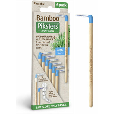 Piksters Bamboo Angled 6db Nr.5 Blue (0,55/1,10mm)