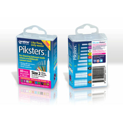 Piksters 40db Box Nr.2 White (0,52/0,90mm)