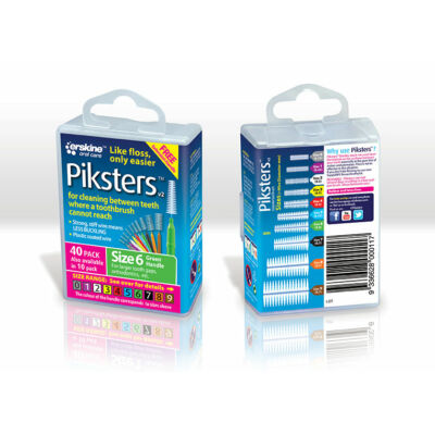 Piksters 40db Box Nr.6 Green (0,63/1,40mm)