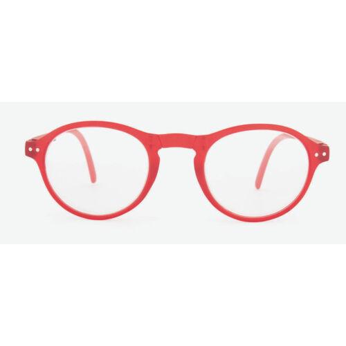 Szemüveg Kreativ, piros 1.00