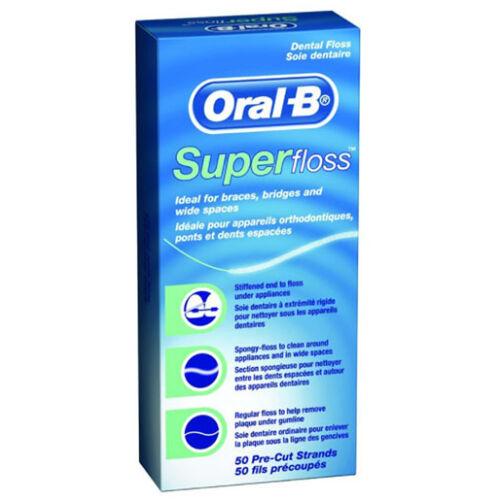 Super Floss fogselyem 50db Oral-B