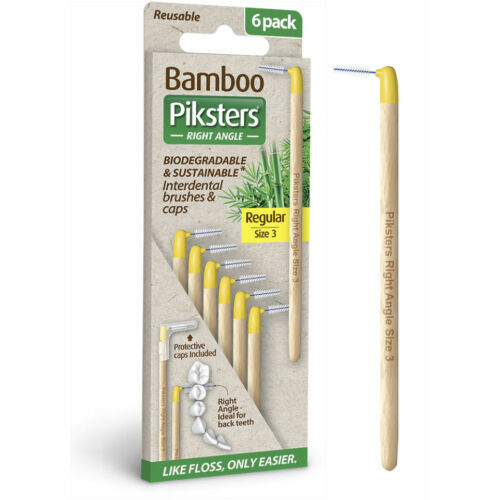 Bamboo Piksters hajlított 6db, 3-as