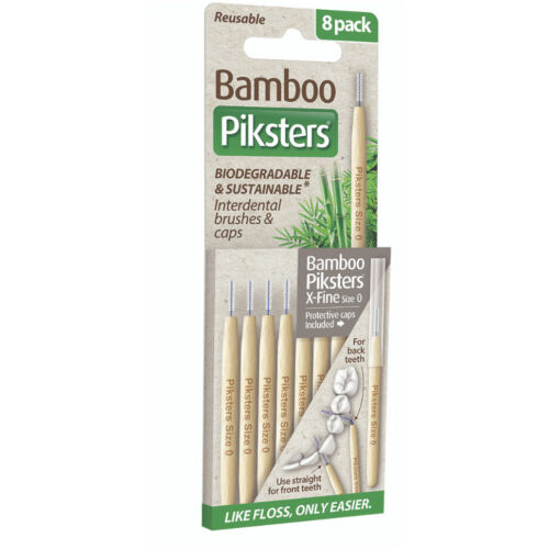 Piksters Bamboo 8db Nr.0 Silver (0,34/0,60mm)