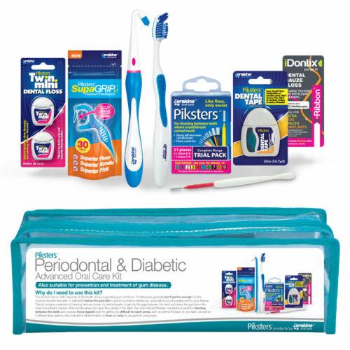 Parodontális és diabetikus továbbfejlesztett szájápolási készlet