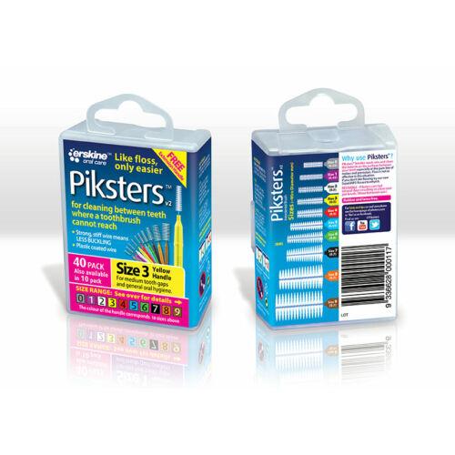 Piksters Fogközkefe, 40-es csomag, 3-as méret