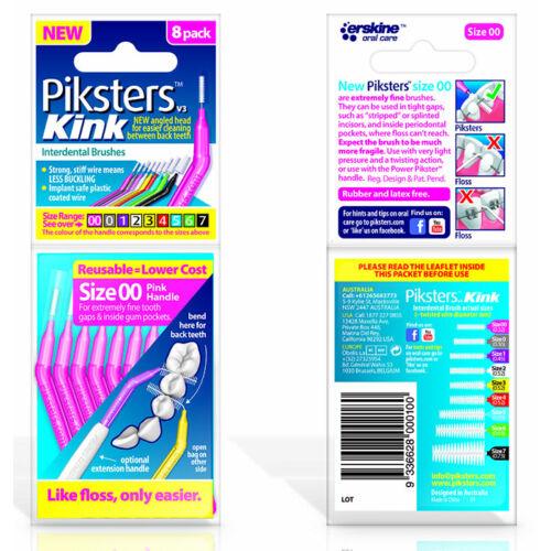 Piksters Kink no.00 pink (0,34/0,60mm) 8db