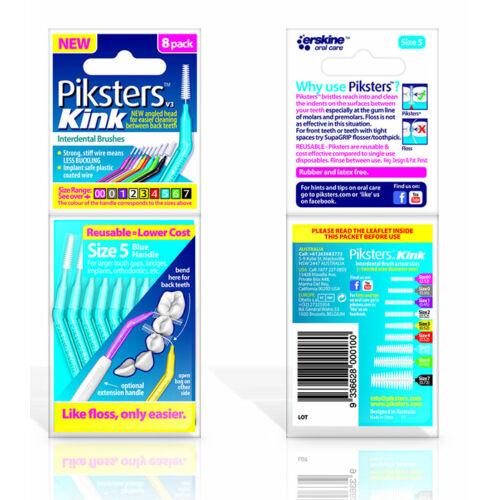 Piksters Kink no.5 blue (0,55/1,10mm) 8db