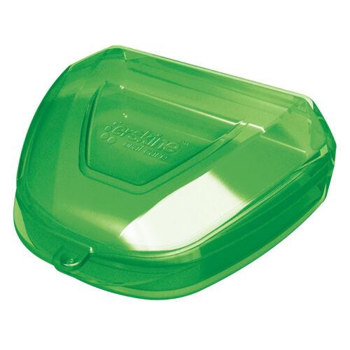 Fogszabályzó / fogsín tároló doboz zöld